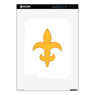 Fleur de Lis iPad 2 Decal
