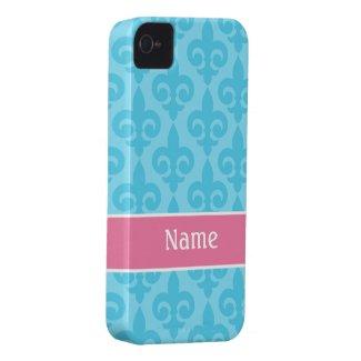 Fleur de Lis iPhone 4/4S Casemate Case casematecase