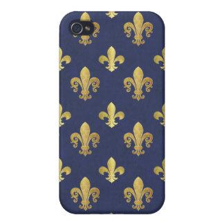 Fleur de lis iPhone 4/4S covers