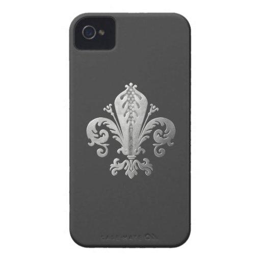 Fleur_de_lis iPhone 4 Cases