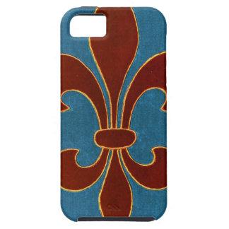Fleur-de-lis iPhone SE/5/5s Case