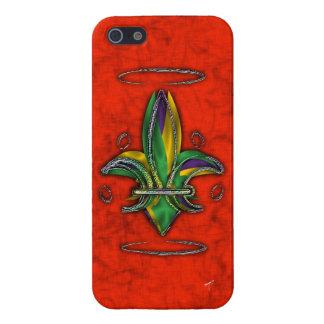 Fleur de Lis iPhone SE/5/5s Cover