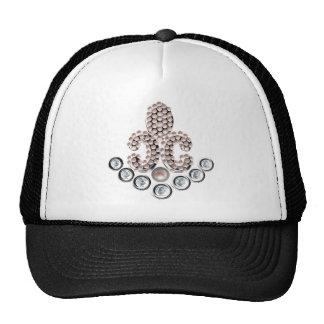 Fleur De Lis-jewelled Trucker Hat