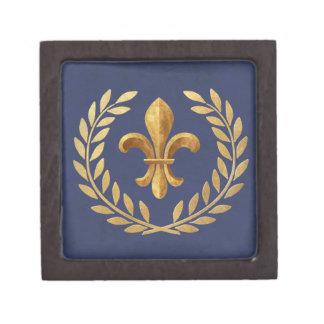 Fleur-de-lis Jewelry Box