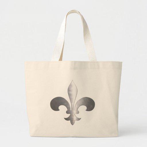 Fleur-De-Lis Jumbo Tote Bag