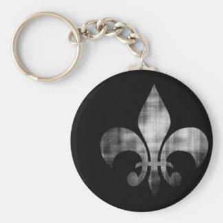 Fleur-de-lis Keychain