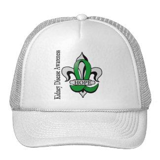 Fleur De Lis Kidney Disease Hope Trucker Hat