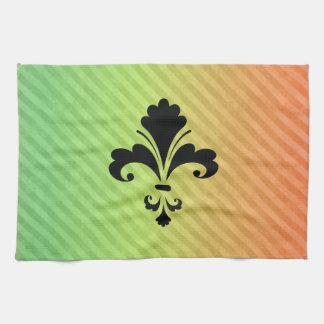 Fleur de lis kitchen towels