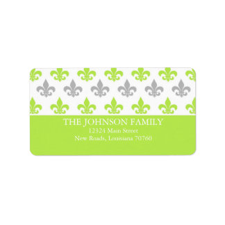 Fleur De Lis Address Labels | Zazzle