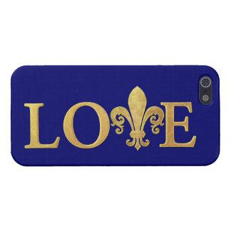 Fleur de lis, Love Cover For iPhone SE/5/5s
