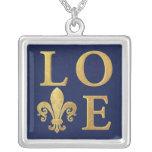 Fleur-de-lis love custom jewelry