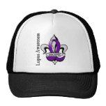 Fleur De Lis Lupus Hope Mesh Hat