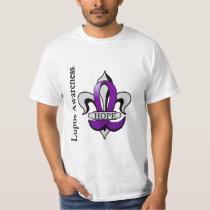 Fleur De Lis Lupus Hope T-Shirt