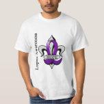 Fleur De Lis Lupus Hope T-shirts