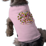 fleur de lis Mardi-Gras 2011 V-2 Doggie Tee Shirt