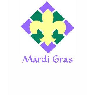Fleur De Lis, Mardi Gras shirt