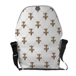 Fleur de Lis Messneger Bag Courier Bag