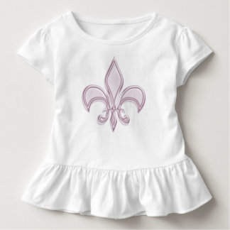 Fleur de Lis, metallic pink element. Toddler T-shirt