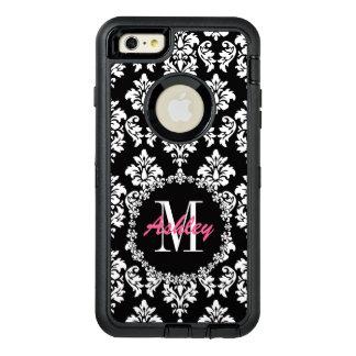 Fleur de Lis Monogram Damask Pattern OtterBox iPhone 6/6s Plus Case