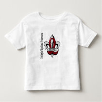Fleur De Lis Multiple Myeloma Hope Toddler T-shirt