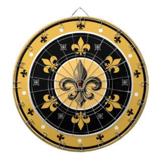 Fleur-de-Lis New Orleans Design Dart Board