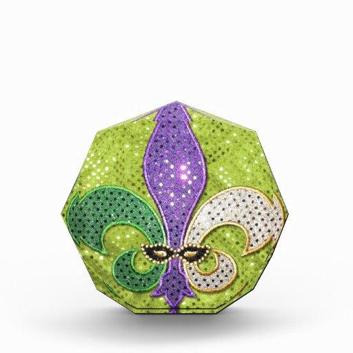 Fleur De Lis  New Orleans Jewel Sparkle Awards