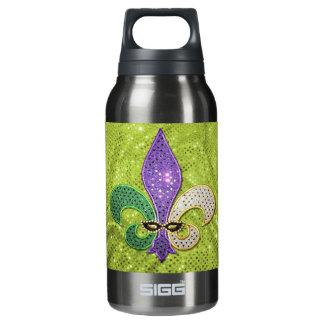 Fleur De Lis  New Orleans Jewel Sparkle Insulated Water Bottle