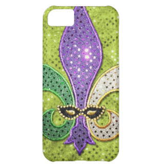 Fleur De Lis  New Orleans Jewel Sparkle iPhone 5C Cover