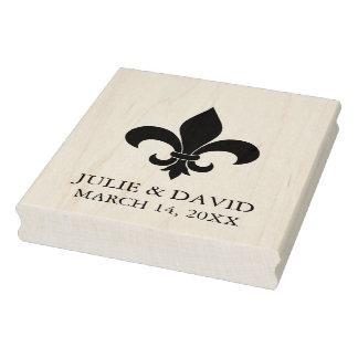 Fleur-de-lis / New Orleans Rubber Stamp