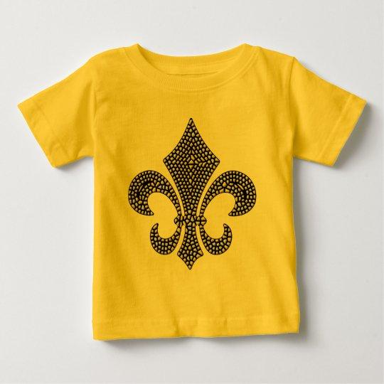Fleur De Lis NOLA Bevel Baby T-Shirt