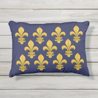 Fleur-de-lis Outdoor Pillow