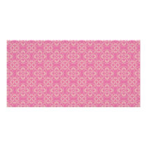 Fleur De Lis Pattern in Pink Card
