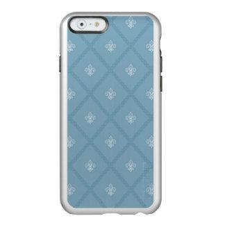 Fleur-de-lis pattern incipio feather shine iPhone 6 case