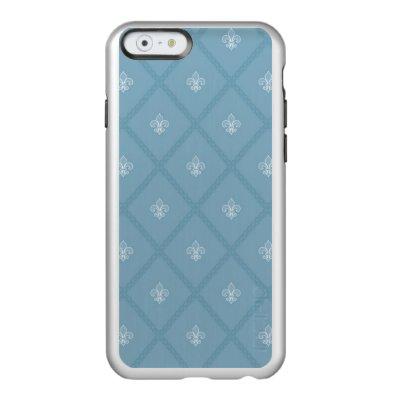 Fleur-de-lis pattern incipio feather® shine iPhone 6 case