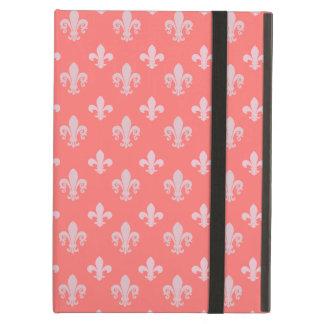 Fleur de lis pattern iPad air case