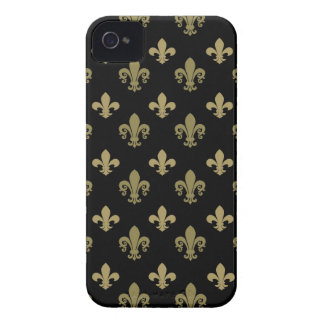 Fleur de lis pattern iPhone 4 case