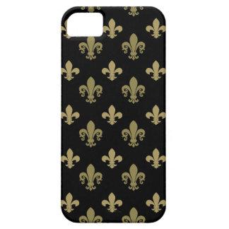 Fleur de lis pattern iPhone SE/5/5s case
