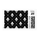 Fleur De Lis Pattern Postage Stamp
