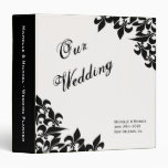 Fleur de Lis Pattern Wedding Planner Binders