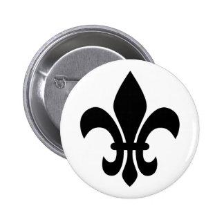 Fleur de Lis Pinback Button