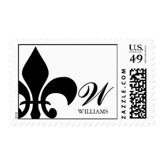Fleur de Lis Postage Stamps