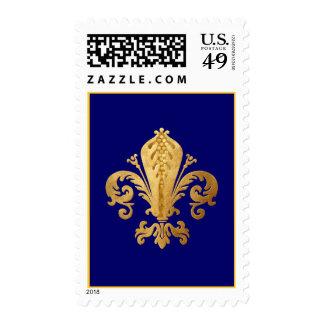 Fleur-de-lis Stamp