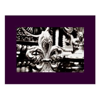 Fleur de Lis [Postcard] Postcard
