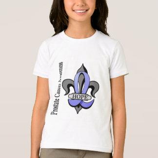 Fleur De Lis Prostate Cancer Hope T-Shirt