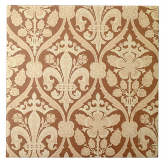 'Fleur-de-Lis', reproduction wallpaper designed by Ceramic Tile
