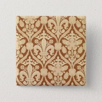 'Fleur-de-Lis', reproduction wallpaper designed by Pinback Button