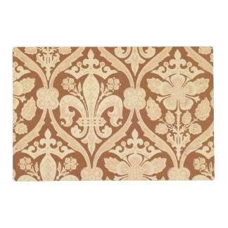 'Fleur-de-Lis', reproduction wallpaper designed by Placemat