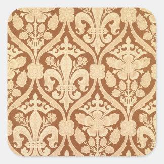 'Fleur-de-Lis', reproduction wallpaper designed by Square Sticker