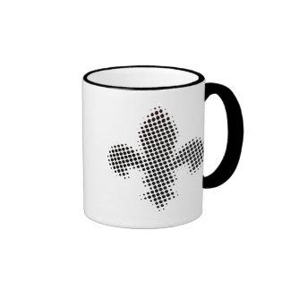 Fleur-de-lis Ringer Coffee Mug