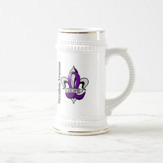 Fleur De Lis Sarcoidosis Hope Coffee Mugs